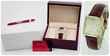 Vintage Gensler-Lee Tempo Veritas 14k Yellow Gold  Men's Watch