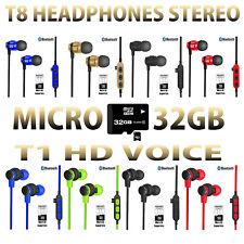 Auricolari Cuffie wireless sport Bluetooth 4.2 stereo + Microfono Per Smartphone