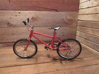 Vintage Salesman Model Bicycle Mountain Bike Store Display - GREAT DETAIL!