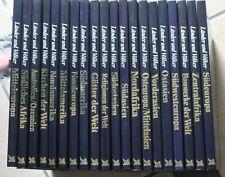 20 Bände aus der Reihe Länder und Völker, sehr gut erhalten