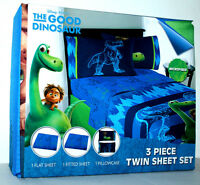 DISNEY THE GOOD DINOSAUR TWIN SHEET MICROFIBER  3 PIECE BEDSHEET SET BOYS