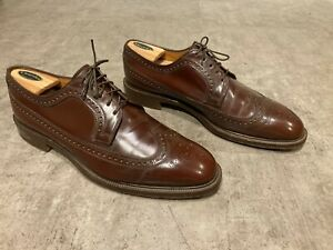 Church's Custom Grade Shell Cordovan Longwing Wingtip Oxford 13D Made in England
