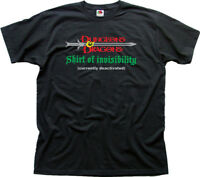 DUNGEONS & DRAGONS inspired Invisibility funny Magic black t-shirt 01458