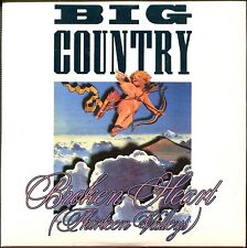 BIG COUNTRY - BROKEN HEART (WONDERLAND 12'') - CARDBOARD SLEEVE CD MAXI