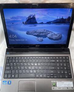 "Acer Aspire Model 5750 Laptop-I5 With Turbo Boost-DVD/CD-15.6""- Webcam"