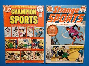 STRANGE SPORTS STORIES # 1 & CHAMPION SPORTS # 1 - FULL-PG PREVIEW SHADOW # 1