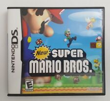 New Super Mario Bros. (Nintendo DS, 2006)-Very Good Condition (All Inserts Inc)