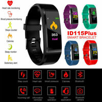 Smart Watch Bracelet Heart-Rate Blood-Pressure Monitor Fitness-Tracker Bluetooth