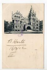 CANADA carte postale ancienne MONTREAL Knox college
