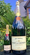 More details for large moet & chandon imperial champagne bottle 6l mathusalem empty dummy 60 cm
