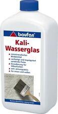 Baufan® Kaliwasserglas 1 L Grundierung Wasserglas Kaliumsilikat-Lösung