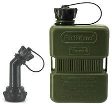 FuelFriend®-PLUS 1,0 Liter - Sonderserie OLIV + Füllrohr verschließbar