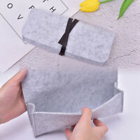 Felt School Pencil Case Fabric For Students Supplies Stationery Office Pen BaJO