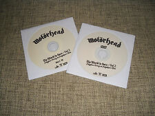 MOTORHEAD / MOTÖRHEAD - THE WORLD IS OURS VOL. 2 - CD + DVD ADVANCE DJ PROMO SET