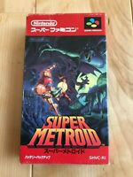 VG++ Super Metroid SFC Super Famicom SNES NTSC-J JAPAN CIB Tested works