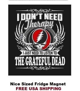 517 - Grateful Dead Nice Refrigerator Magnet
