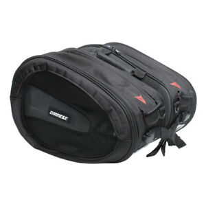 Genuine Dainese D-Saddle Side Pannier Set By Ogio Black Red New