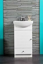 "Sink with Petite Vanity for Bathroom,Vanity Cabinet White Vanity and Sink ""new"""