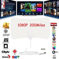 50 Mile Range Antenna Cable HD Skylink Digital HDTV 1080P 4K Indoor TV Antena