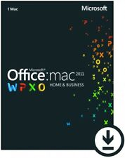 Microsoft Office 2011 For Mac Home & Business - 5 Mac Users - SPECIAL OFFER***