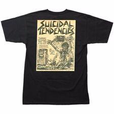 Dogtown X Suicidal Tendencies Punk Flyer Skateboard T Shirt Black Xxxl 3X