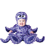Morris Costumes Toldder Tentacles Lined Zippered Jumpsuit 6-12 Month. IC6037TXS