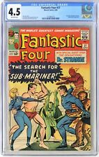 S706. FANTASTIC FOUR #27 Marvel CGC 4.5 VG+ (1964) 1st DOCTOR STRANGE Crossover