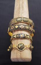 Lot of damascene bangles bracelets