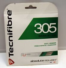 NEW 305 Green 17G Reel Tecnifibre Squash String SALE!