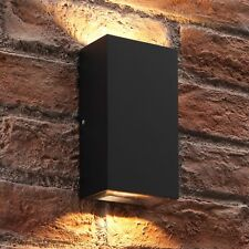 Auraglow Contemporary Double Up & Down Integrated LED Warm White Wall Light