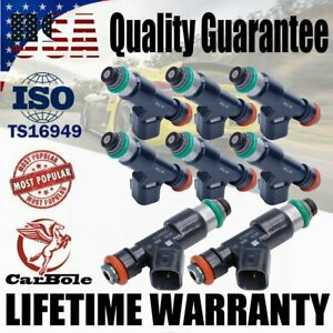8PCS Fuel Injectors For 07-09 For Chevrolet GMC Suburban 5.3L V8 12594512