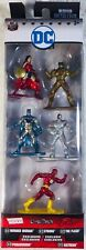 DC COMICS NANO METALFIGS PACK A - WONDER WOMAN, CYBORG, FLASH, PARADEMON, BATMAN