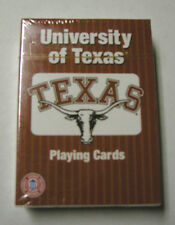 University of Texas Playing Cards By Patch Products, One Deck, New in Box