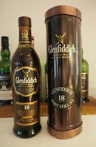 Glenfiddich 18 Years - Geschenkdose Blech - Small Batch 3334   Alte Abfüllung
