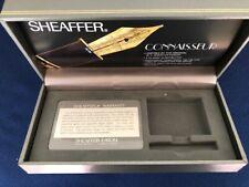 Vintage Sheaffer Connaisseur Fountain Pen BOX ONLY w/ card