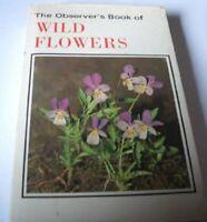 Observer's Book of Wild Flowers (Observer's Pocket) Hardback Book The Fast Free