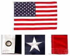 8x12 Foot Embroidered Sewn U.S. Usa American 50 Star Nylon Flag 8x12 grommets