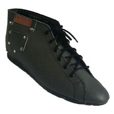 Class Act Womens Irresistible Low Ankle Laced-Up Synthetic Chukka Boot CHARCOAL