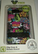Disney D-TECH hard shell snap on case for HTC Thunderbolt, Mickey Mouse image