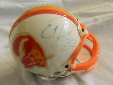 Errict Rhett Tampa Bay Bucs Autographed Mini Helmet