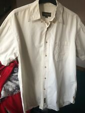 Men's Timberland Shirt Med Supersoft Cream  100% Cotton