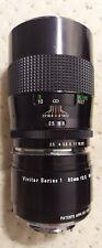 Vivitar Series 1 90mm f/2.5 macro lens Tokina Bokina w 1:1 adapter Minolta mount