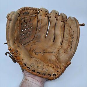 VTG Rawlings Model PG24 Reggie Jackson Leather Fielders Glove Deep Well Pocket