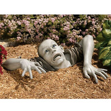 Halloween The Flesh Hungry Zombie Montclaire Moors Haunted House Garden Statue