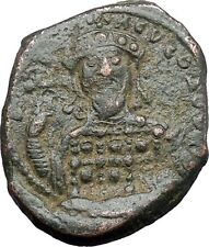 Constantine X  Ducas 1059AD Large Ancient Byzantine Coin JESUS CHRIST i48292