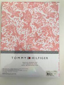 Tommy Hilfiger burnt coral Koi Fish pattern 52x70 oblong tablecloth $37.00 ret'l