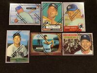 1996 Topps Baseball Yankees Great Mickey Mantle Finest reprint set of 19