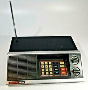 Vintage Bearcat 210XL 18 Channel Scanner Radio Model BC210-1 UNTESTED