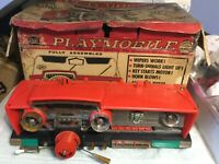 1960s Deluxe Reading Playmobile Original Box,Insert, Playmobile Dash for Parts.