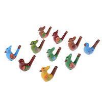 Sifflet musical peint à la main en céramique d'oiseaux d'eau sifflet SJFRFR fr